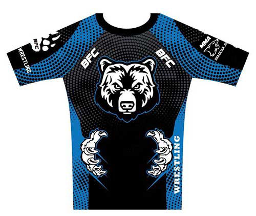 Bear Fight Club No Gi Rash Guard