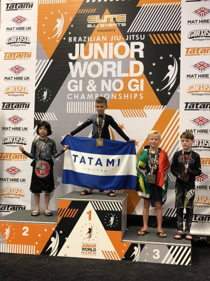 Tim Bronze World BJJ Championships 2019